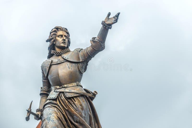 Marie-Christine de Lalaing dans Tournai, Belgique. image stock