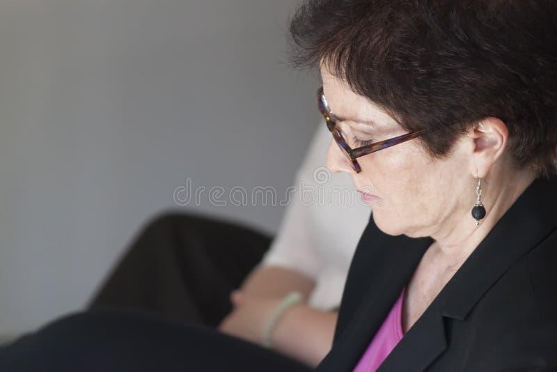 Marie JovanoviÄ ‡, ambassadör Extraordinary och befullmäktigad nolla arkivfoto