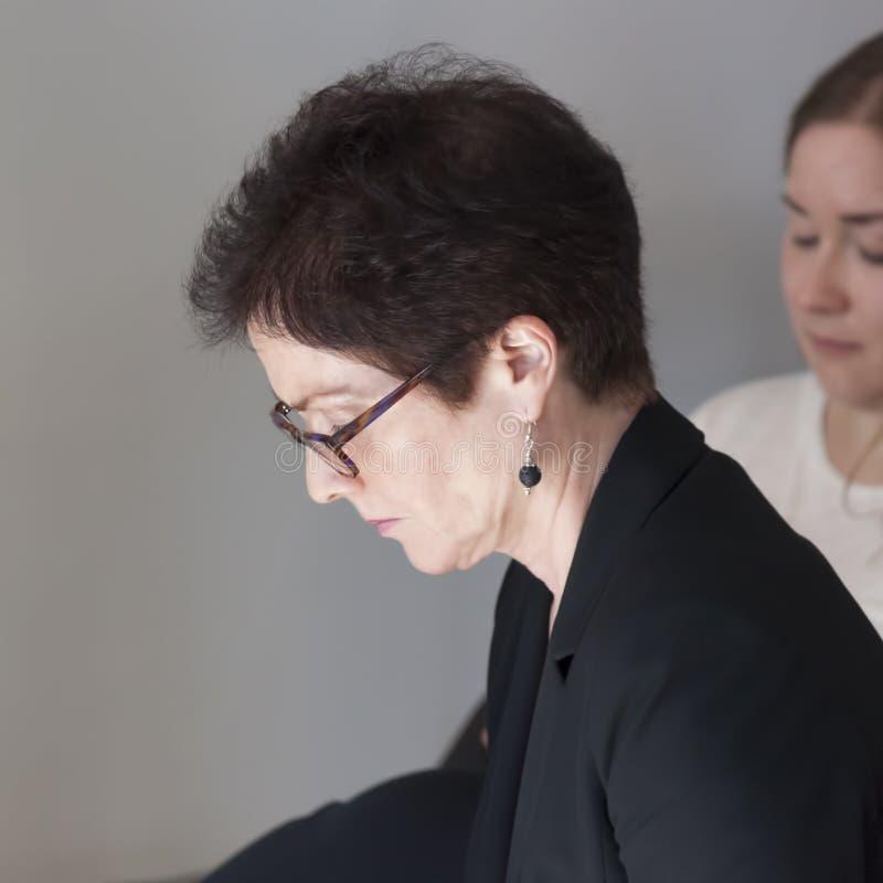 Marie JovanoviÄ ‡, ambassadör Extraordinary och befullmäktigad nolla arkivfoton