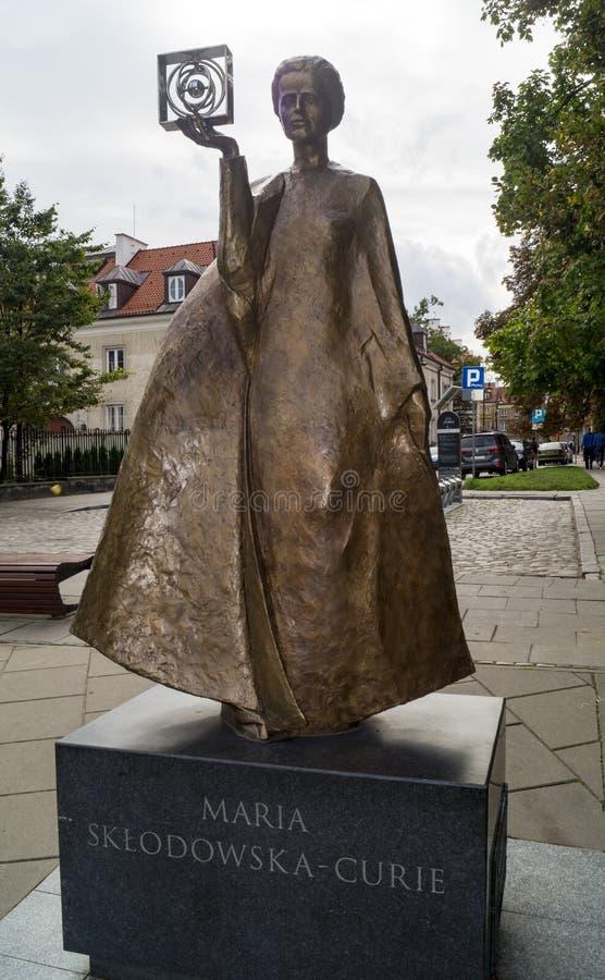 Marie Sklodowska Curie stock afbeeldingen