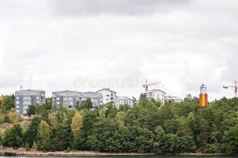 Mariehamn stock foto