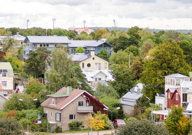 Mariehamn, Aland royalty-vrije stock foto's