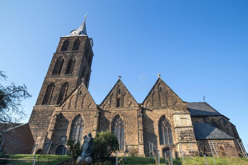 marien la iglesia minden Alemania foto de archivo libre de regalías