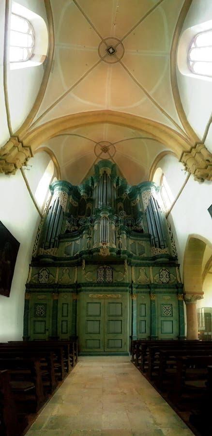 Big organ royalty free stock photography
