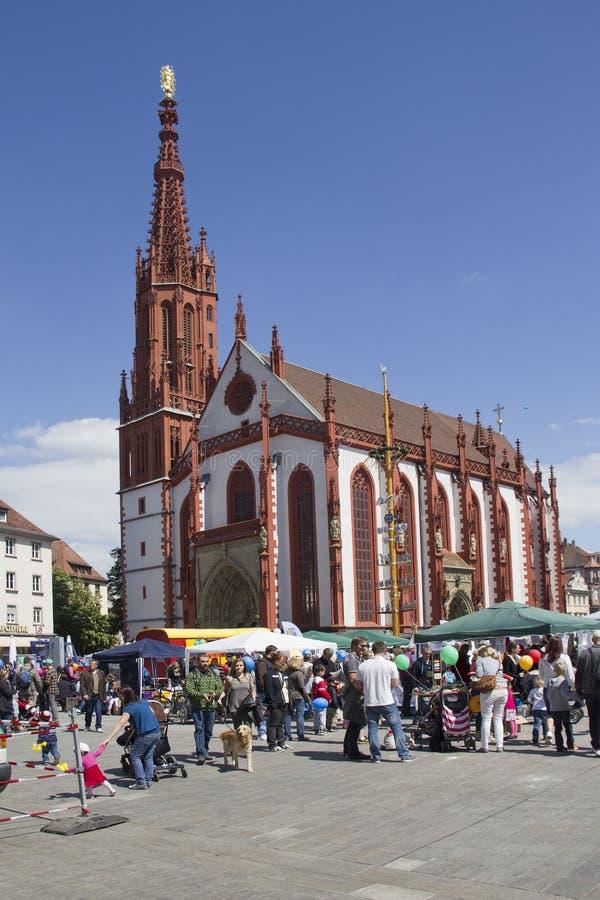 Marienkapelle Wurzburg, Alemania foto de archivo libre de regalías