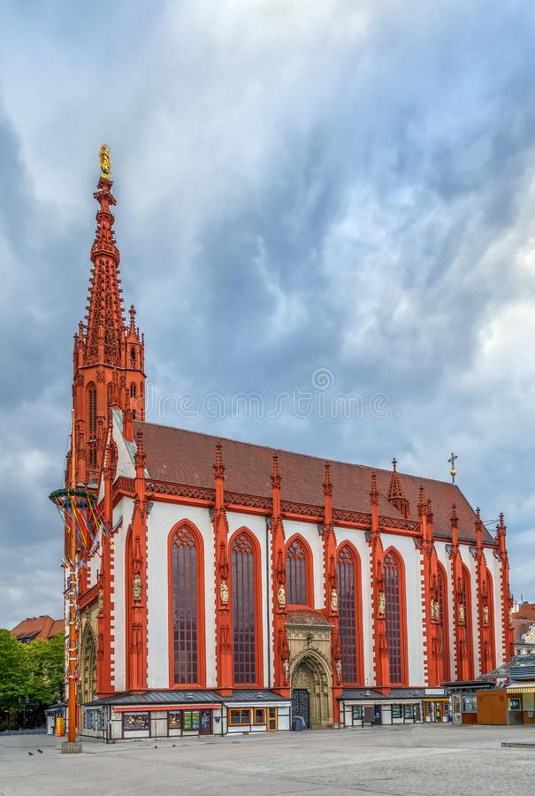 Marienkapelle, Wurzburg, Alemania imagen de archivo