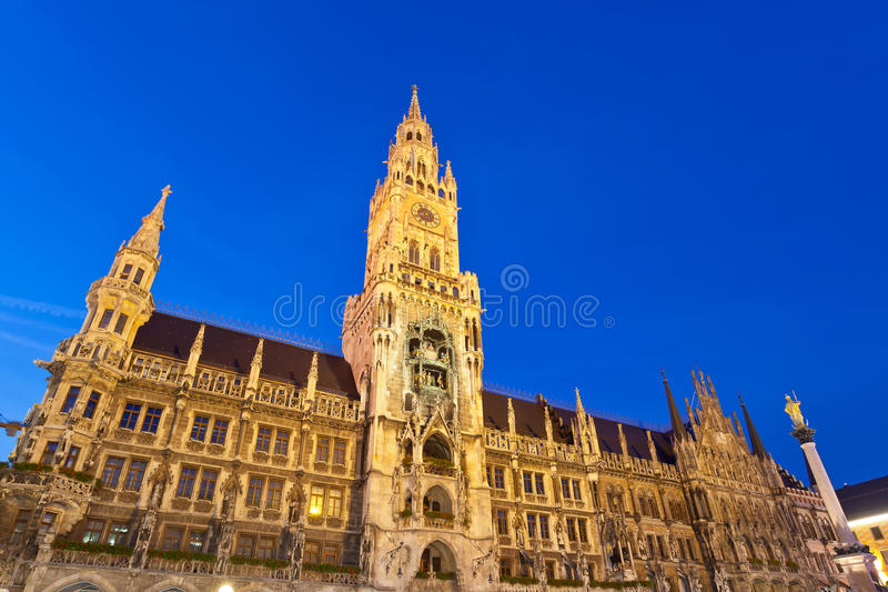 Marienplatz à Munich Images stock
