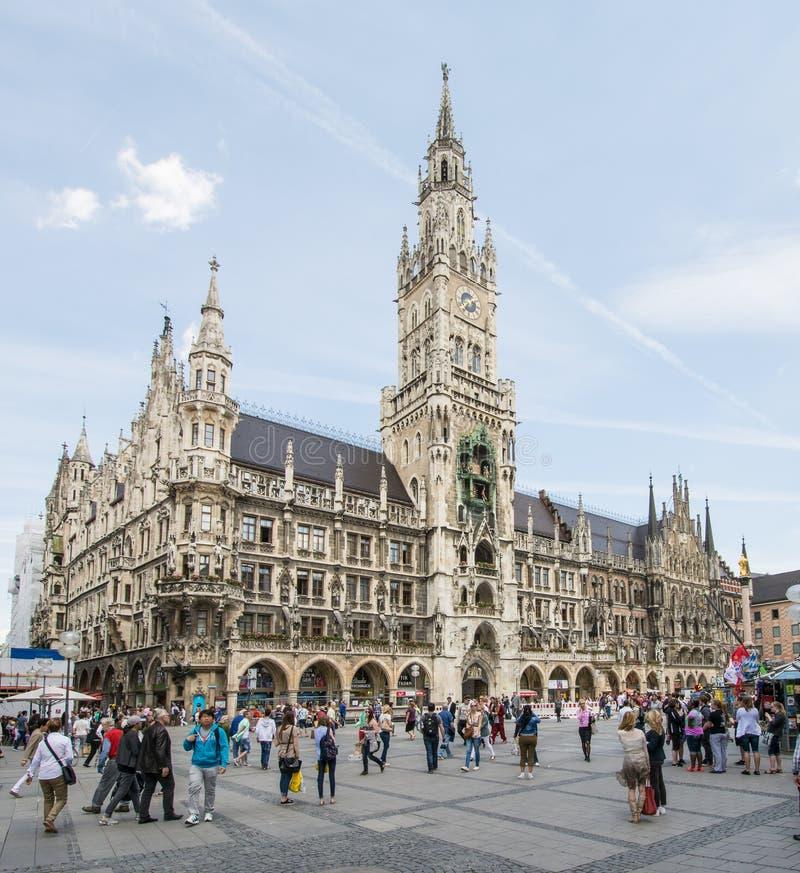 marienplatz Μόναχο στοκ φωτογραφίες με δικαίωμα ελεύθερης χρήσης