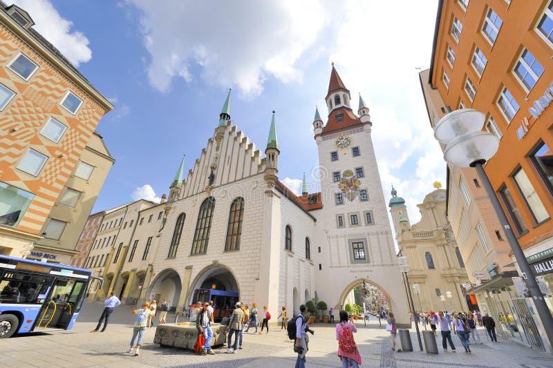 Marienplatz immagine stock libera da diritti