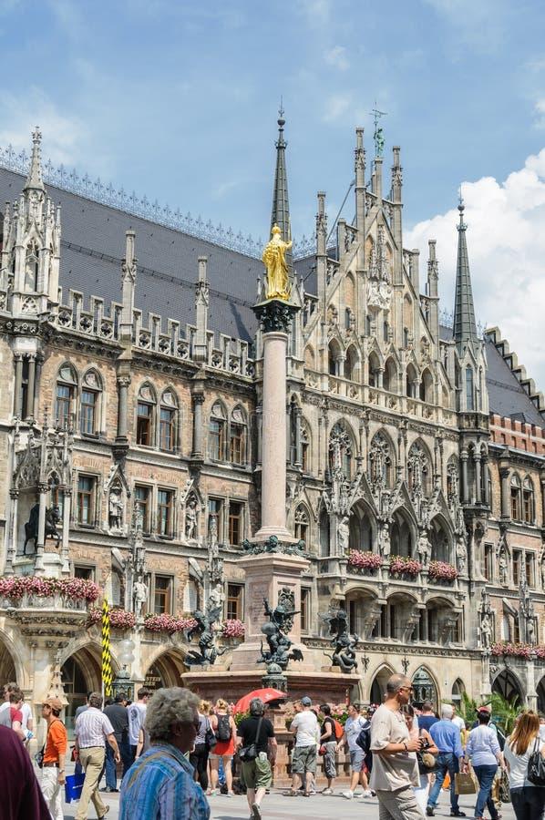 Download Marienplatz, Munchen, Germany Editorial Photography - Image: 83718407
