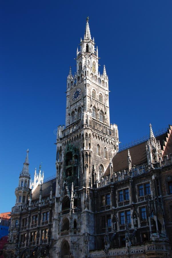 Marienplatz Munchen - Tyskland royaltyfria bilder