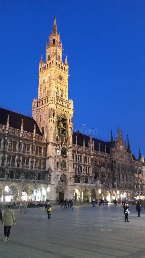 marienplatz munich стоковая фотография