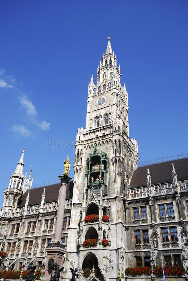 Download Marienplatz In Munich Royalty Free Stock Images - Image: 22590759