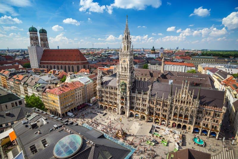 Marienplatz - Munich - Tyskland royaltyfria foton
