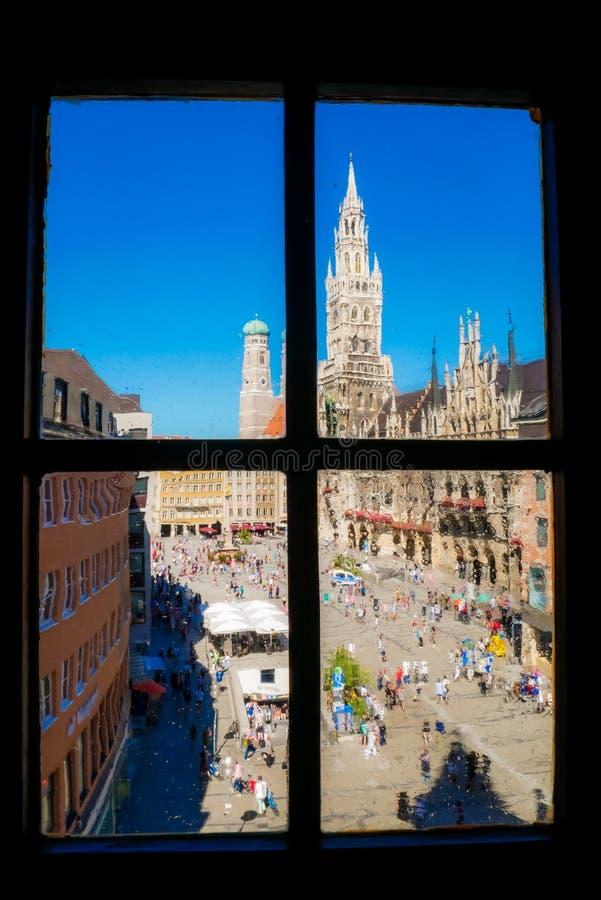 Marienplatz zdjęcia royalty free