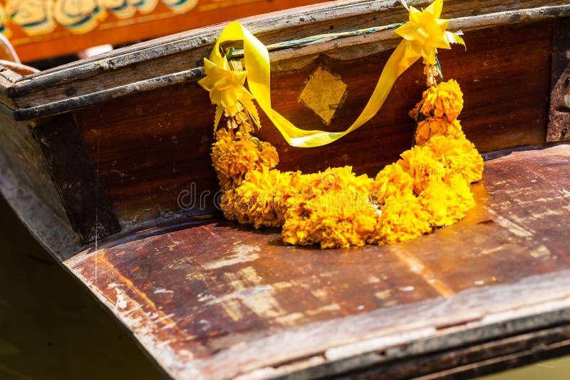 Marigold garland royalty free stock photos