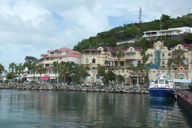 Marigot, Sint Maarten, καραϊβικός στοκ φωτογραφία με δικαίωμα ελεύθερης χρήσης