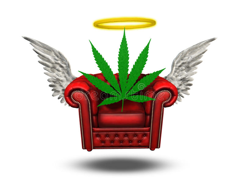 Marihuana ilustracja wektor