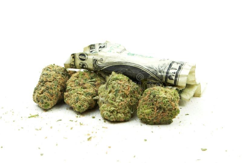 Marihuana stock fotografie