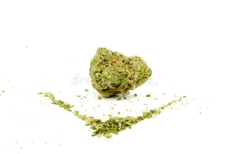 Marihuana stock foto