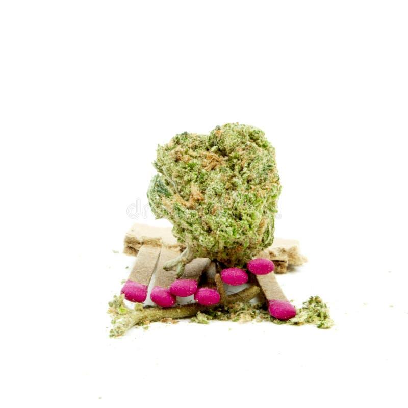 Marihuana royalty-vrije stock foto's
