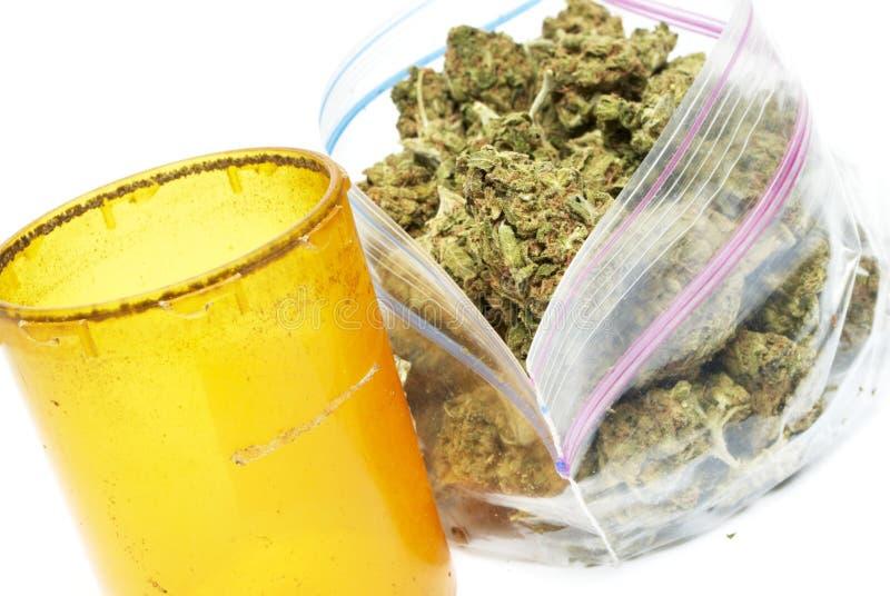 Marihuana royalty-vrije stock afbeelding
