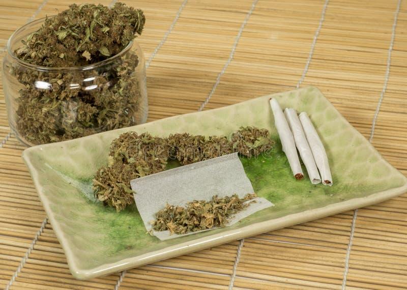 Marihuana 11 obrazy royalty free
