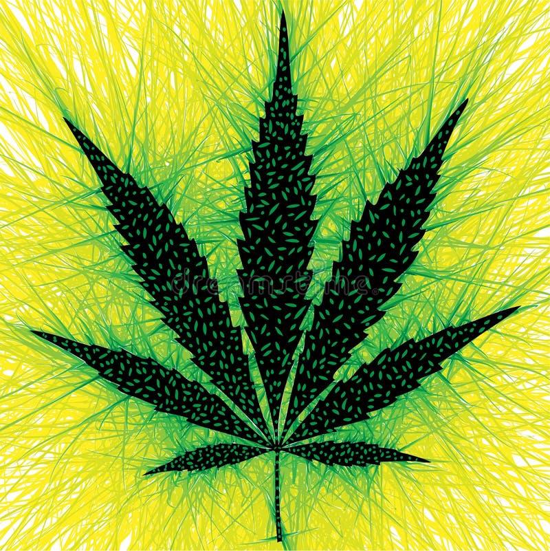 marihuana stock illustratie