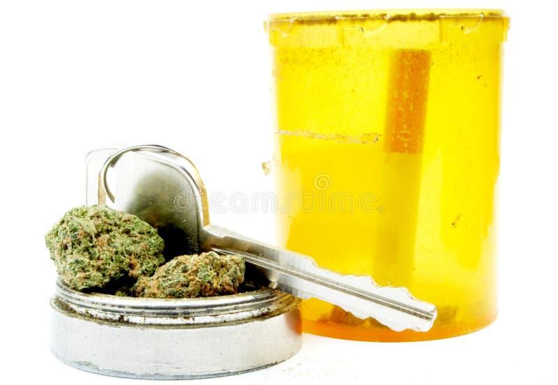 Marihuana, Autosleutel, die onder de Invloed drijven royalty-vrije stock foto's