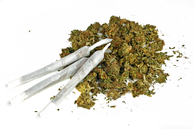 Download Marihuana Joints With Marihuana Stock Image - Image: 28122811