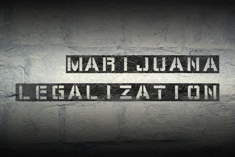 Marihuana legales GR stockfoto