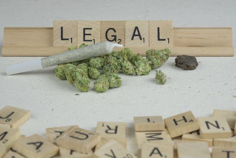Marihuana p?czki zdjęcia stock