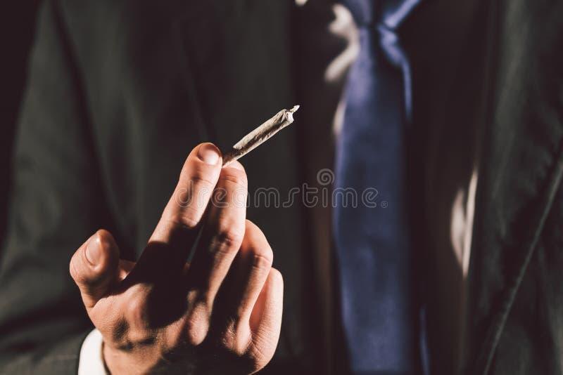 Marihuanagelenk stockfotos