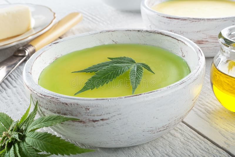 Marihuany masło obraz stock