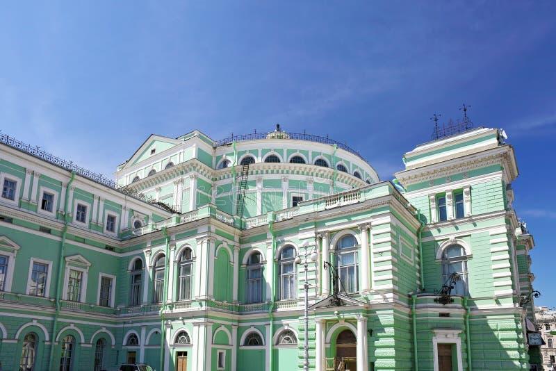 Mariinsky歌剧和芭蕾舞团 免版税库存图片