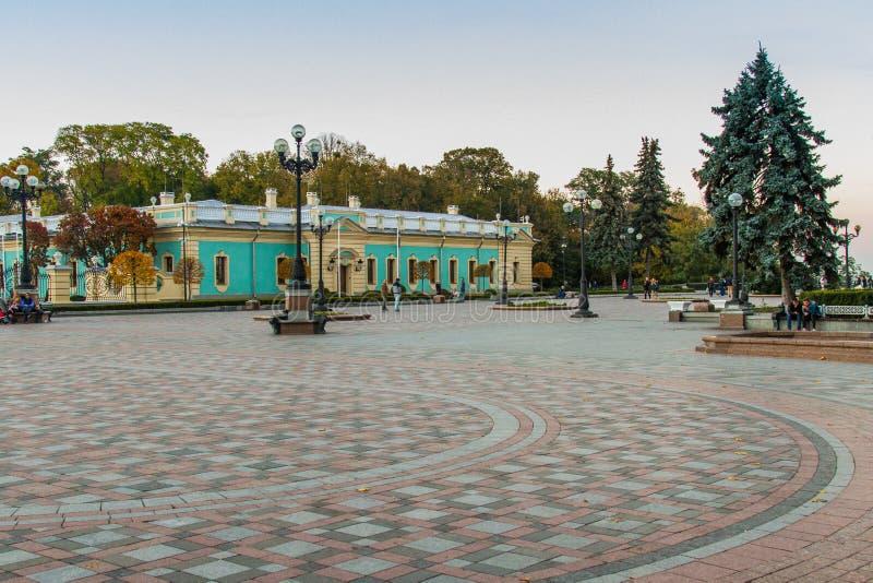Mariinskypaleis in Kiev royalty-vrije stock afbeelding