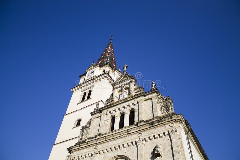 Marija bisrica cathedral stock images