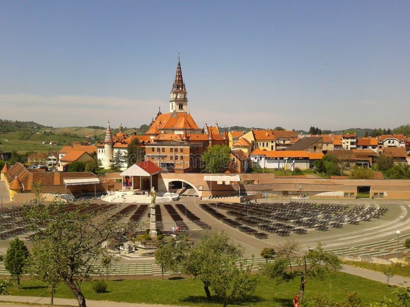 Church Marija Bistrica stock image