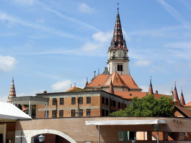 Marija Bistrica's church, Croatia royalty free stock photo