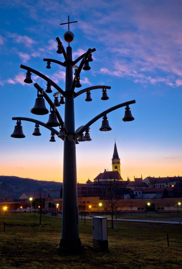 Marija bistrica shrine church view stock images