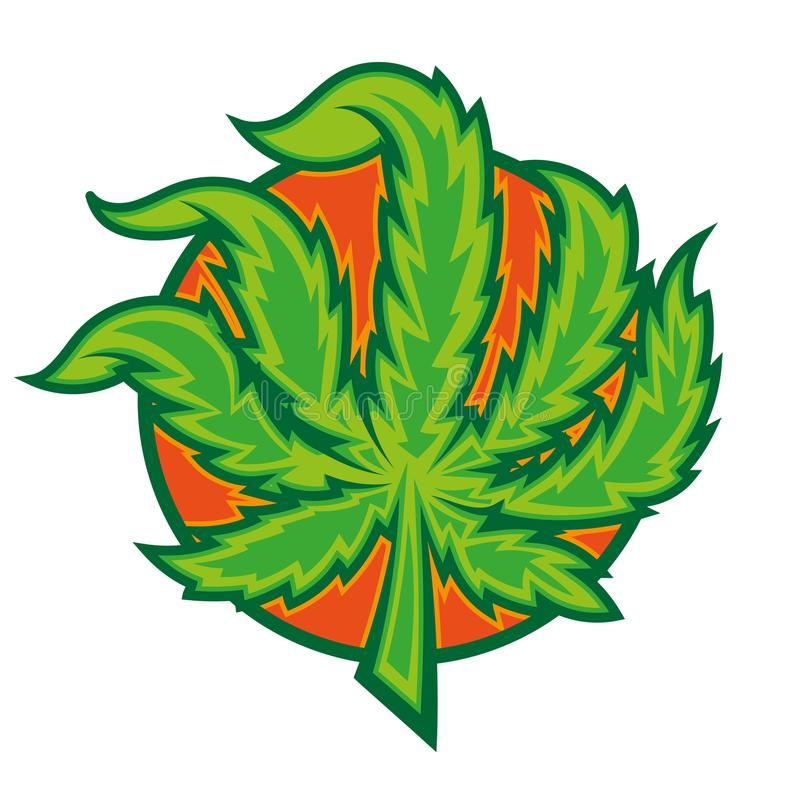 marijuana stock illustrationer