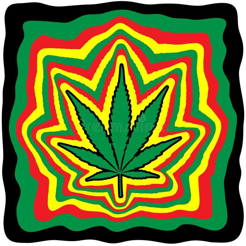 marijuana libre illustration