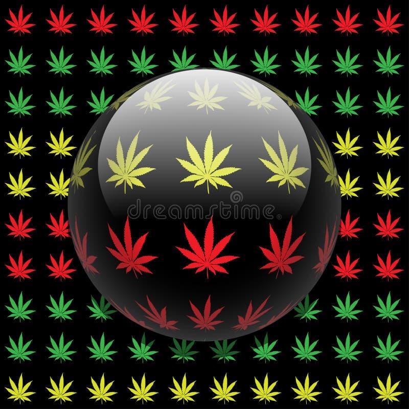 Download Marijuana background stock vector. Image of resin, herb - 25535427