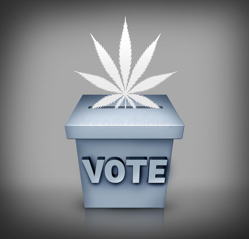 Free Marijuana Election Issue Stock Photo - 53661050