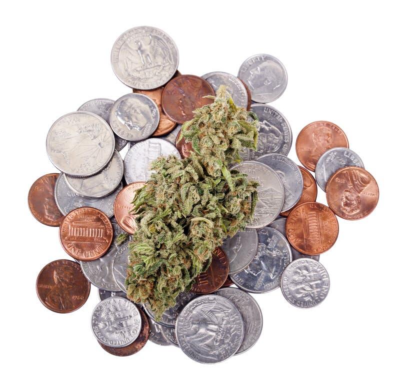 Marijuana et changement photographie stock