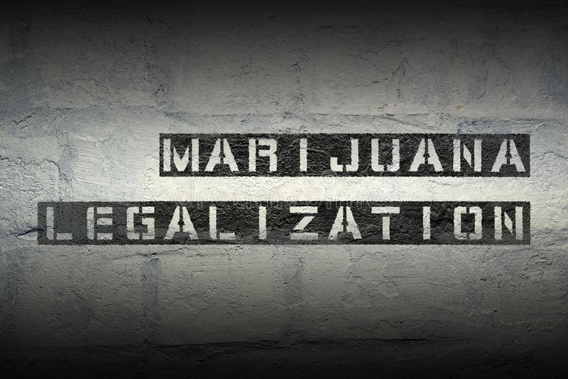 Marijuana GR juridique photo stock