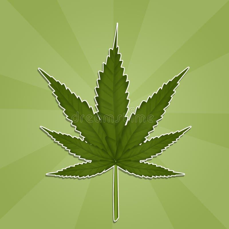 Marijuana Leaf libre illustration