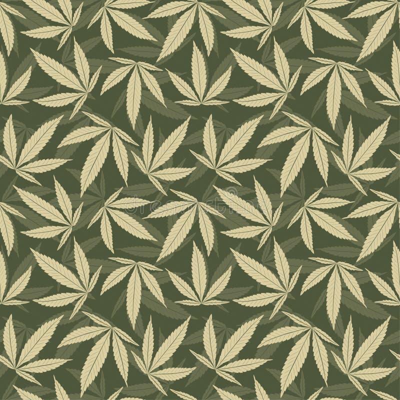 Marijuana leaves vector illustration