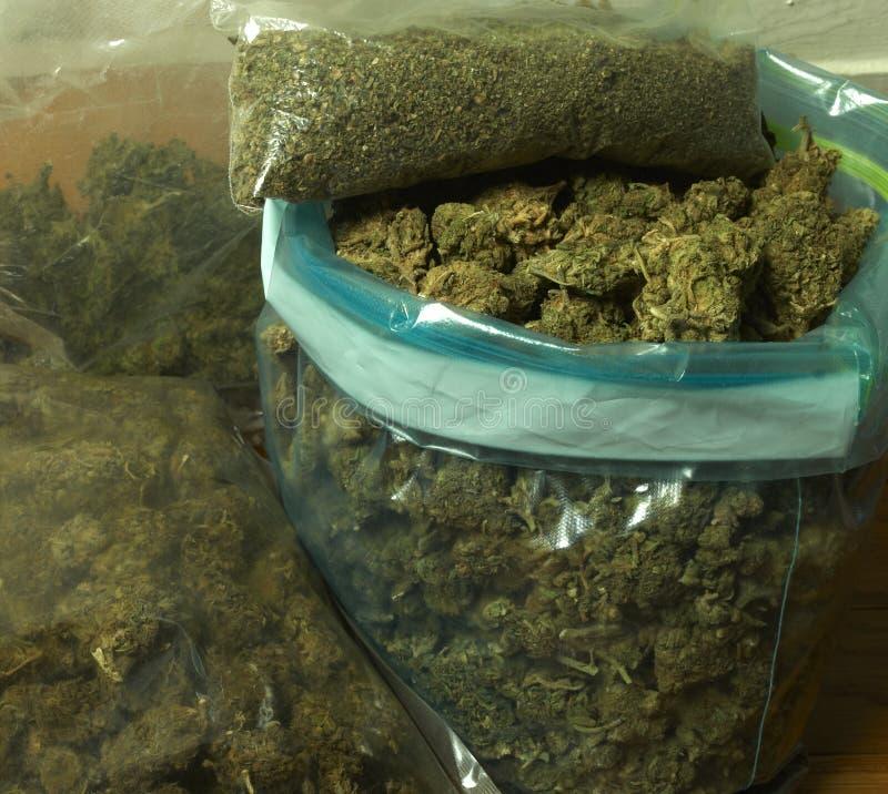 Marijuana médica imagenes de archivo