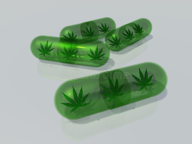 Marijuana médica libre illustration